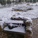 Winterimpressionen - vielleicht erlebe ich es nochmal das richtig viel Schnee in Sardinien kommt?..., ich glaube nicht.