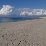 Der Strand von Rena Majore.